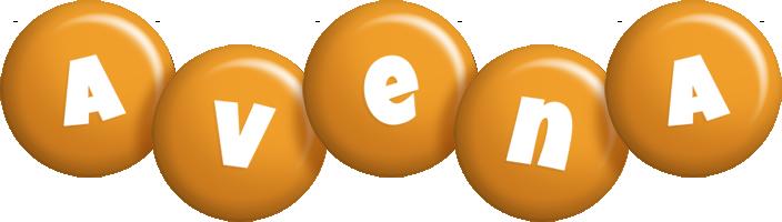 Avena candy-orange logo