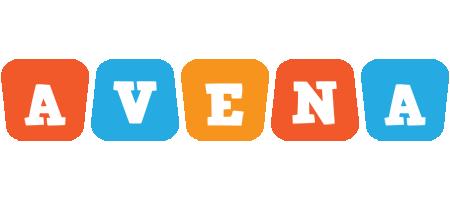 Avena comics logo