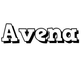 Avena snowing logo