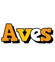 Aves cartoon logo