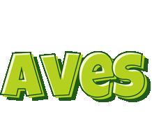 Aves summer logo