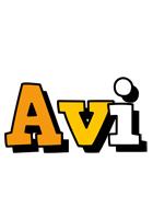 Avi cartoon logo