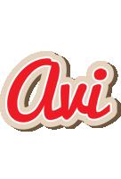 Avi chocolate logo