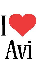 Avi i-love logo