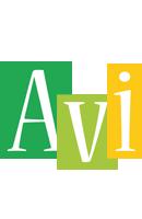 Avi lemonade logo