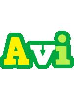 Avi soccer logo