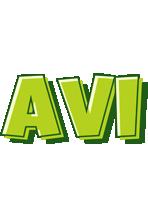 Avi summer logo