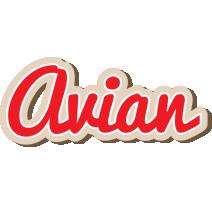 Avian chocolate logo