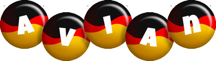 Avian german logo