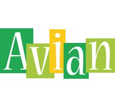 Avian lemonade logo