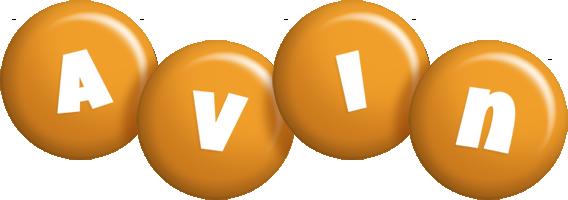 Avin candy-orange logo