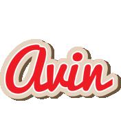 Avin chocolate logo