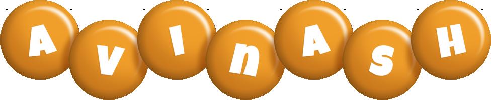 Avinash candy-orange logo