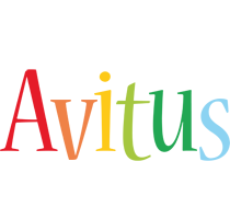 Avitus birthday logo
