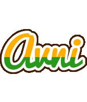 Avni banana logo