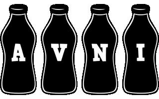 Avni bottle logo