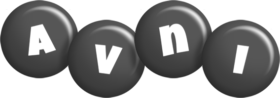 Avni candy-black logo