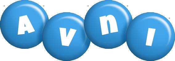 Avni candy-blue logo