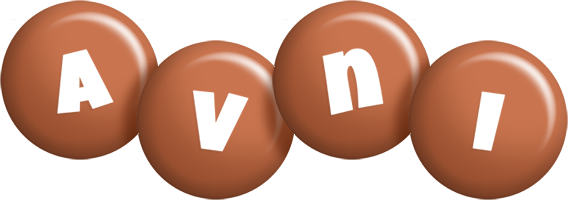 Avni candy-brown logo