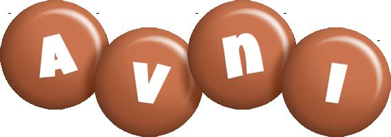 Avni candy-brown logo
