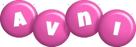 Avni candy-pink logo