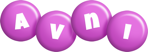 Avni candy-purple logo