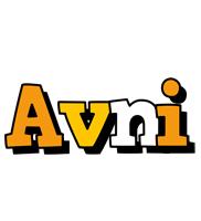 Avni cartoon logo