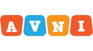Avni comics logo