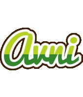 Avni golfing logo