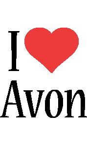 Avon i-love logo