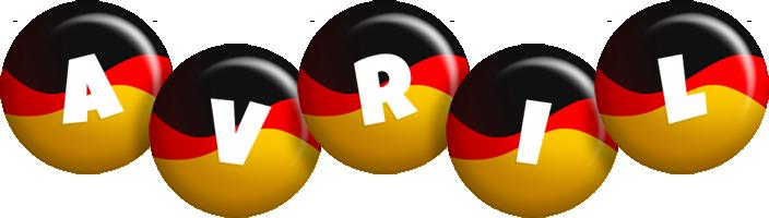 Avril german logo