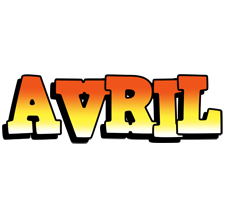 Avril sunset logo