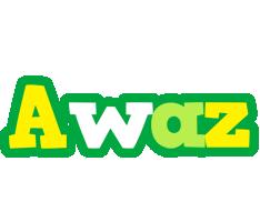 Awaz soccer logo