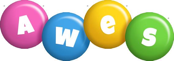 Awes candy logo