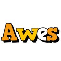 Awes cartoon logo