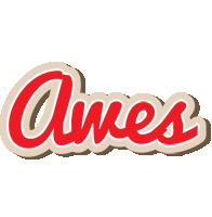 Awes chocolate logo