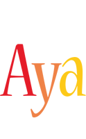 Aya birthday logo