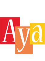 Aya colors logo