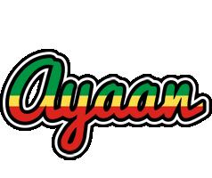 Ayaan african logo