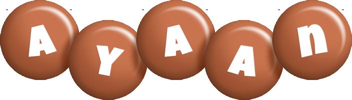 Ayaan candy-brown logo