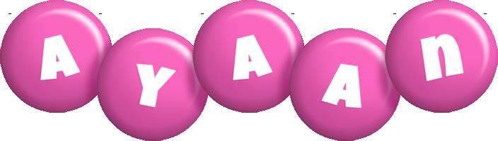 Ayaan candy-pink logo