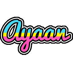Ayaan circus logo
