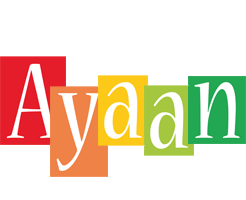 Ayaan colors logo