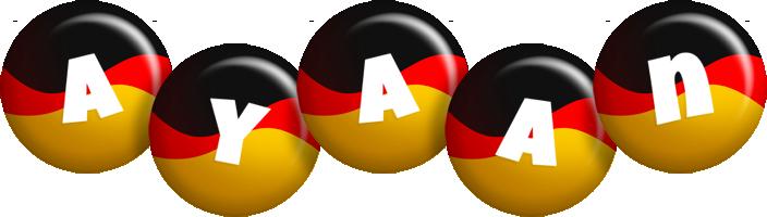 Ayaan german logo