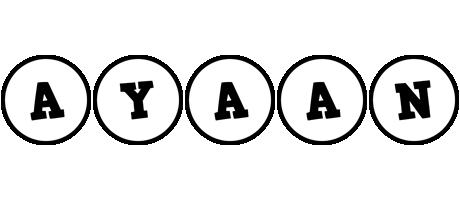 Ayaan handy logo