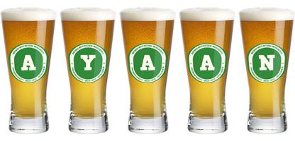 Ayaan lager logo