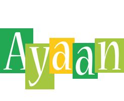Ayaan lemonade logo