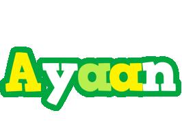 Ayaan soccer logo