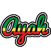 Ayah african logo