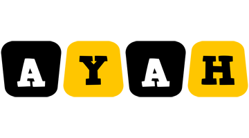 Ayah boots logo